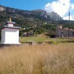 Tibetaans klooster nabij Castellane