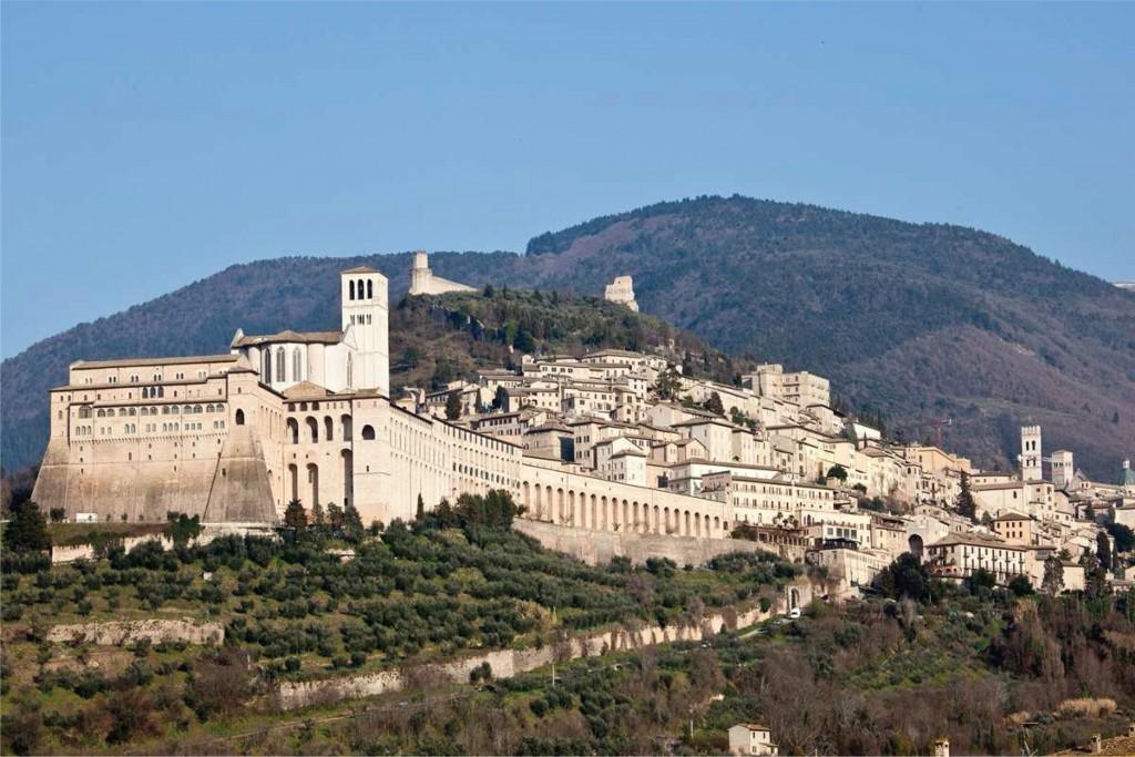 Bedevaartsoord Assisi
