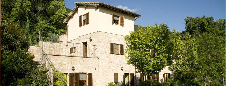 Ons yogahuis in Assisi, Italië