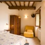 Slaapkamer met 2 losse bedden